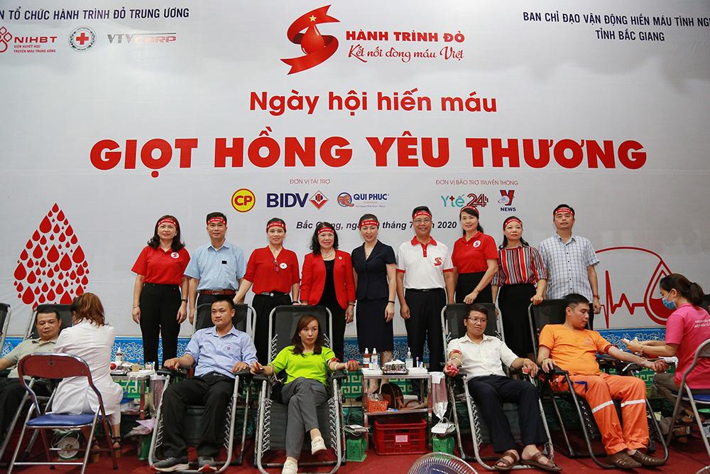 Hành trình đỏ 2020 tại Bắc Giang