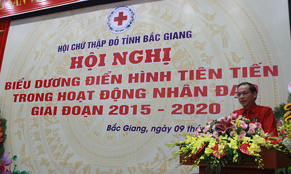 Hội Chữ thập đỏ Bắc Giang: 5 năm tổng giá trị hoạt động nhân đạo đạt trên 238 tỷ đồng